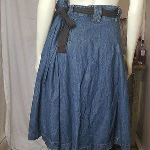 Jones New York Skirts - Denim Jean Skirt Plus Size by Jones NY 20W